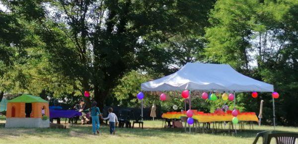 1 compleanno bambini a Firenze Parco d'Arte Pazzagli