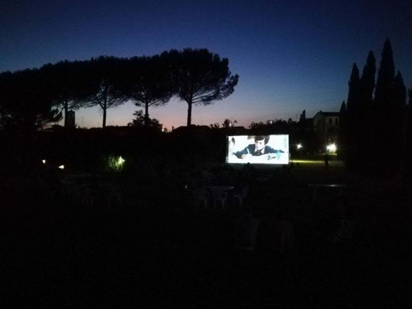 Cineforum al Parco d'Arte Pazzagli a Firenze